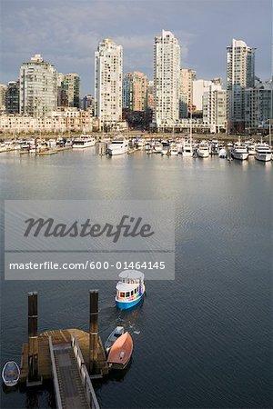 Buildings, False Creek, Vancouver, British Columbia, Canada