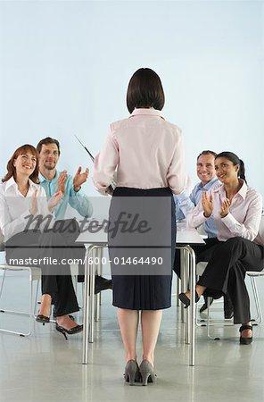 Business People in Boardroom