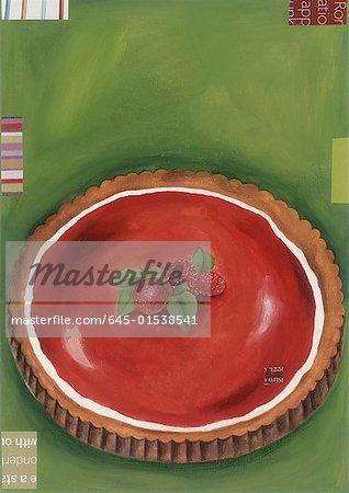 Eine Beere-Torte
