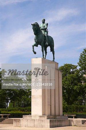 Ferdinand Foch, Statue, Trocadero, Paris, France