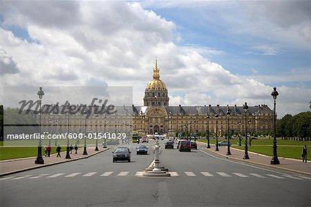 L'hôtel des Invalides, Paris, France