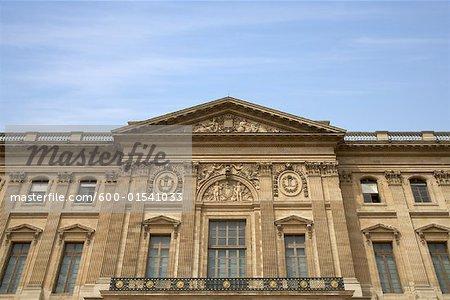 Pavillon Mollien, Cour Carree, Musée du Louvre, Paris, France