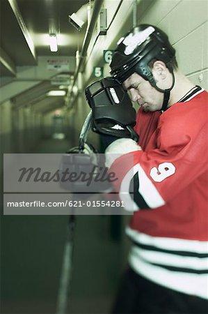 Triste de hockey sur glace