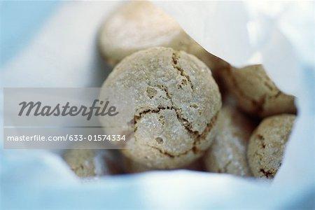 Cookies, close-up