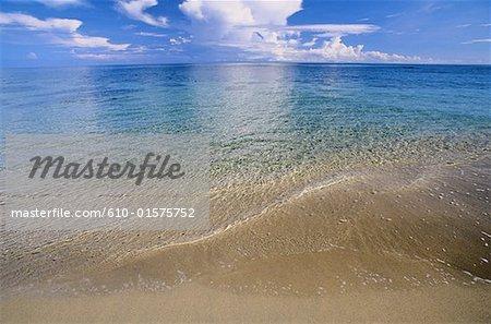 Costa Rica, côte caraïbe, plage