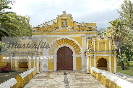 Guatemala, Antigua, Santa Cruz church
