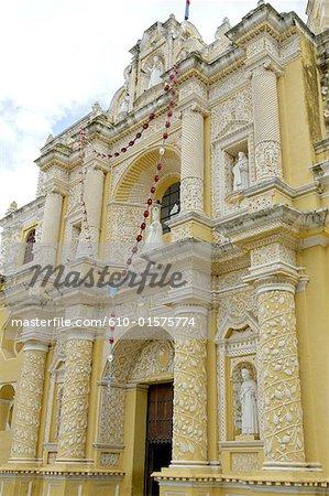 Guatemala, Antigua, La Merced church