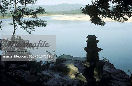 South Korea, Silluk Sa temple, Han river