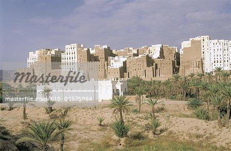 Yemen, Shibam, the Manhattan of desert
