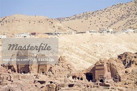 Jordan, Petra, Nabataean tombs