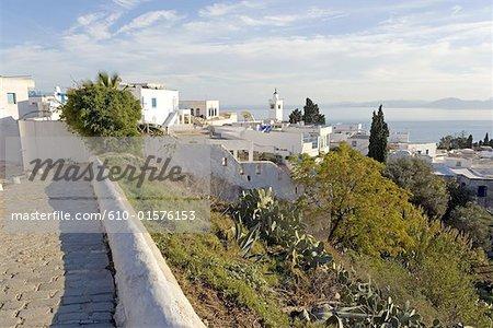 Village de Sidi Bou Said, Tunisie