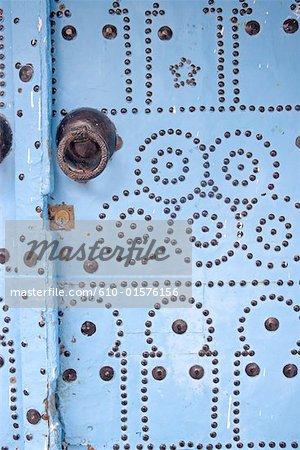 Porte traditionnelle de Tunisie, Sidi Bou Said,