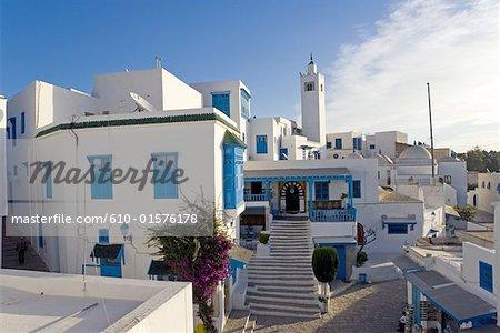 Des cafe de Tunisie, Sidi Bou Said, Nattes