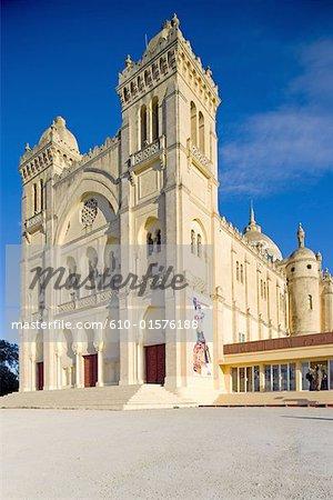 Tunisia, Carthage, Saint Louis cathedral