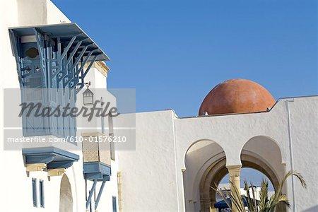 Tunisie, Hammamet, dans la médina