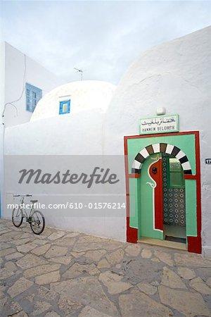 Tunisie, Hammamet, hamman dans la medina