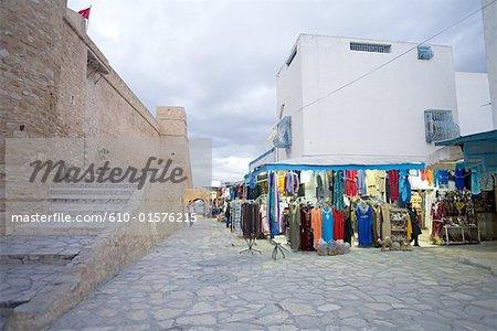 Zone de forteresse ottomane Hammamet, Tunisie