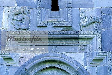 Détails architecturaux d'Arménie, Makaravank,