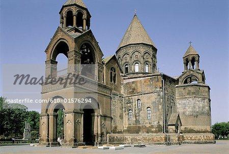 Cathédrale d'Etchmiadzine, l'Arménie,