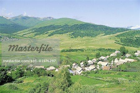 Arménie, village près de Vanadzor
