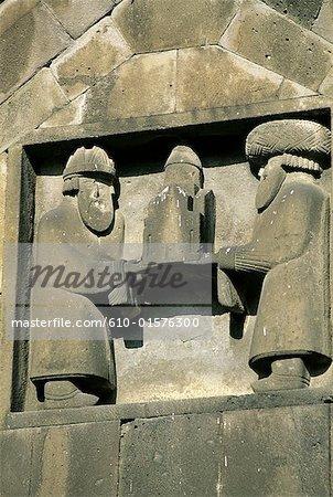 Arménie, monastère de Haghbat, rois arméniens historiques