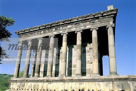 Temple romain de l'Arménie, Garni,
