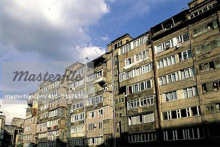 Logements modernes d'Arménie, Erevan,