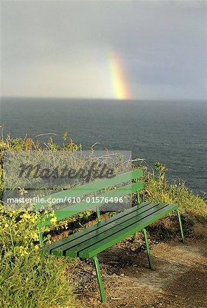 Channel Islands, Guernsey, rainbow