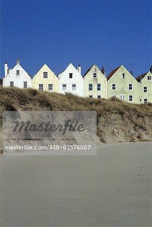Îles de la manche, mer d'Alderney, Braye Beach, voir Hôtels