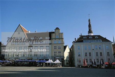 Estonie, Tallinn, vieille ville