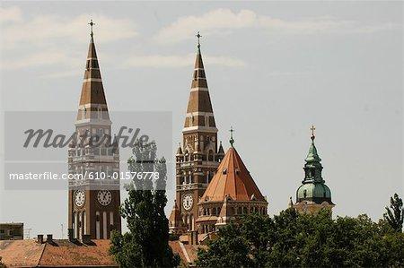 Hungary, Szeged, votive church