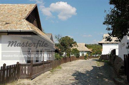 Maison traditionnelle de Hongrie, Hollokö,