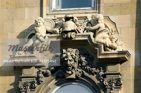 Hungary, Budapest, royal castle, detail