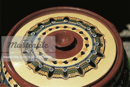 Morceau de Plovdiv, la Bulgarie, de la poterie