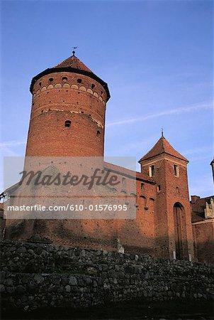Poland, Masuria Region, Reszel, castle