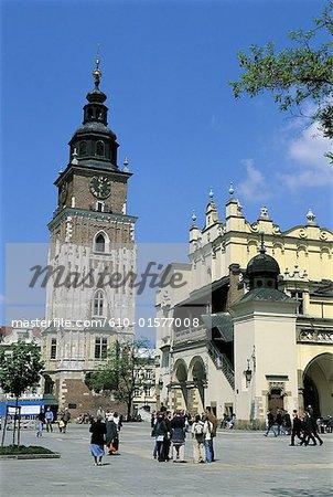 Poland, Kracow, City hall tower