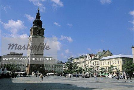 Tour de Pologne, Cracovie, hôtel de ville