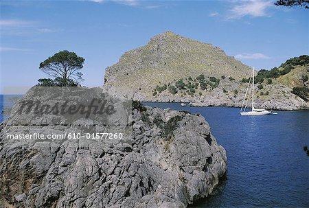 Spain, Balearic Islands, Majorca, coastal landscape