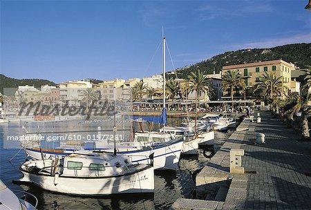 Espagne, îles Baléares, Majorque, Port Andratx, port