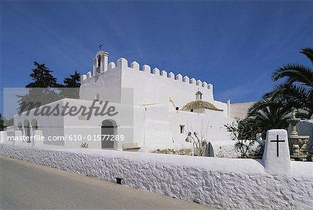 Spain, Balearic Islands, Ibiza, San Jorge's church