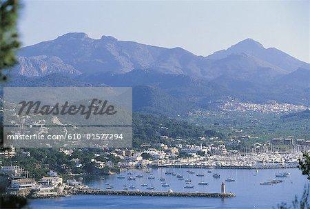 Espagne, îles Baléares, Majorque, Port Andratx
