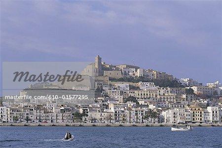 Espagne, îles Baléares, Ibiza, Dalt Vila