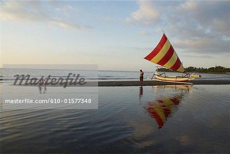 Indonesia, Bali, Lovina Beach