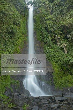 Indonesia, Bali, Gitgit waterfall