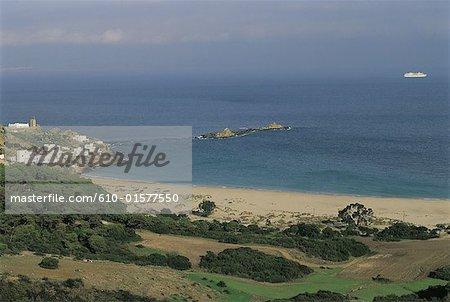 Maroc, zone es-Ksar-Sghir, Dalia Beach