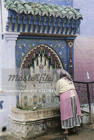 Fontaine de Chefchaouen, Maroc