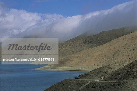 Tibet, lac Yamdrok-Tso