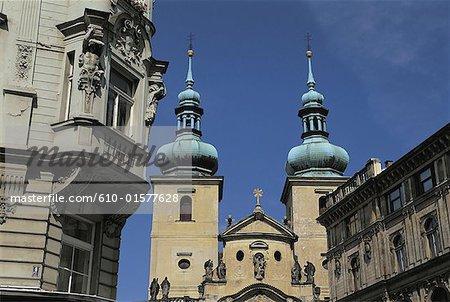 Czech Republic, Prague, Saint Havel Church