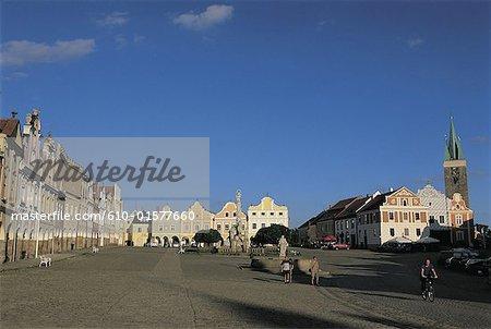 Czech Republic, Telc, main square