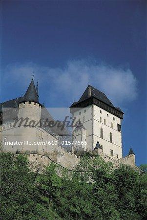 Czech Republic, Karlstein, castle